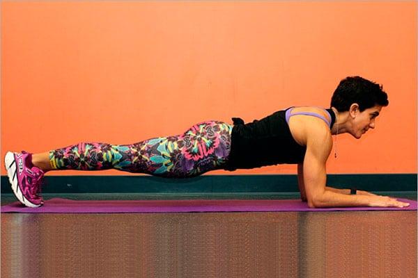 10 variaciones del ejercicio de plancha para tener un core más fuerte