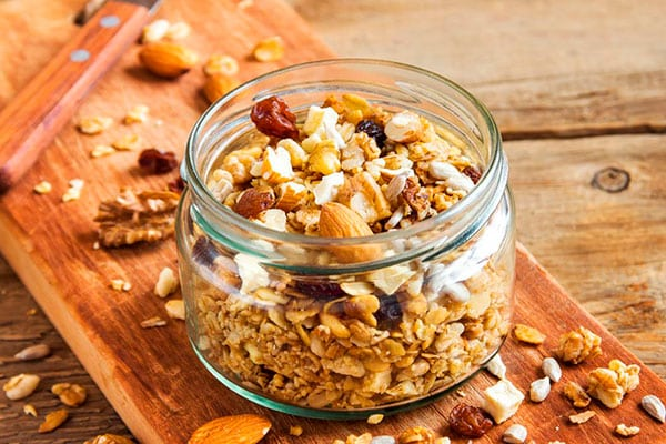 Desayunos Veganos: Cereales de Granola