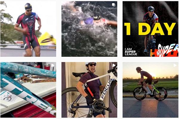 Algunas cuentas de Instagram de triatlón que vale la pena seguir