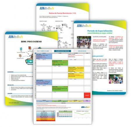 Documentos de ADN Ciclista