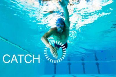 Técnica de natación: el agarre