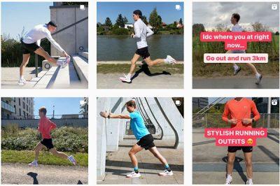 Cuenta de Instagram de Ultimate Running
